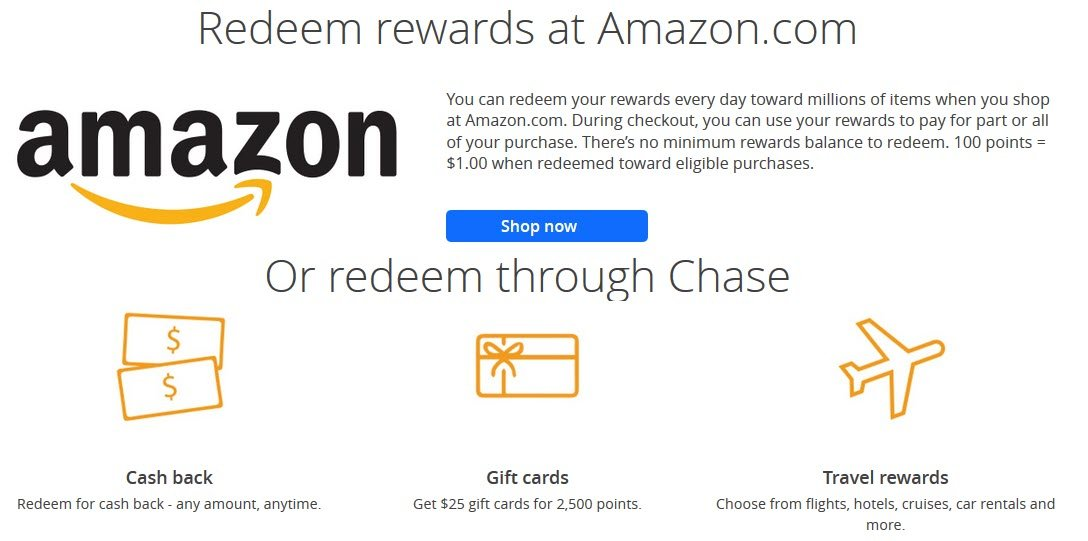There  Are Multiple Ways to Redeem with the Amazon Prime Rewards Visa Signature