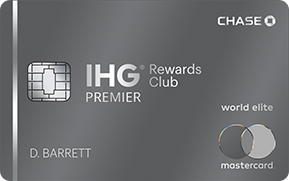 The IHG Rewards Club Premier Card Offers 140,000 IHG Rewards Points