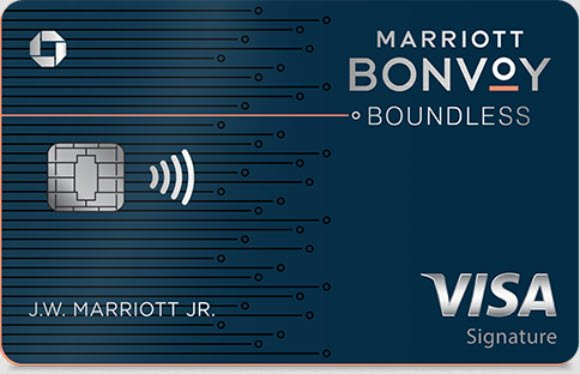 The Marriott Bonvoy Boundless Credit Card offers one of the best credit card welcome bonuses - a 75,000 point bonus
