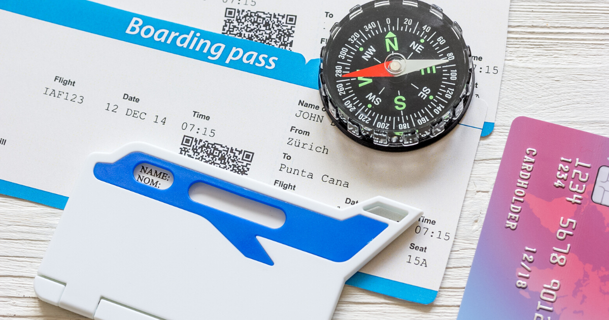Travel hacking using credit cards