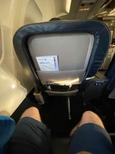 More legroom on A320 United first class than the A319