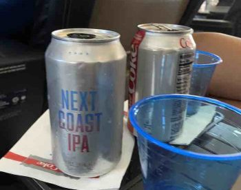 IPA served onboard United first class