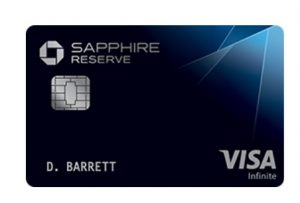 Chase Sapphire Reserve - How to Earn Chase Ultimate Rewards Points