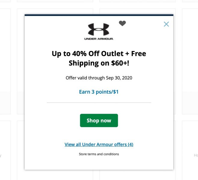 How to Earn Chase Ultimate Rewards Point Shopping Portal Button