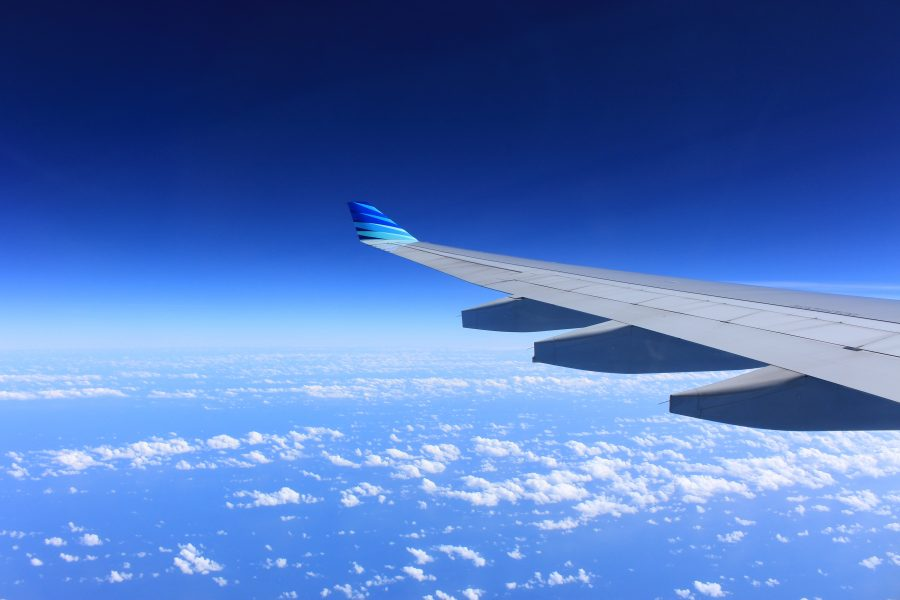 how coronavirus affects airlines miles - view from the wing