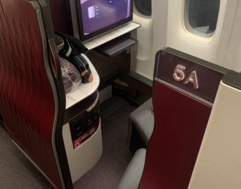A350-900 Seat - Qatar Airways