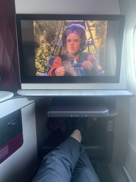 A350 Qsuite - Screen Example