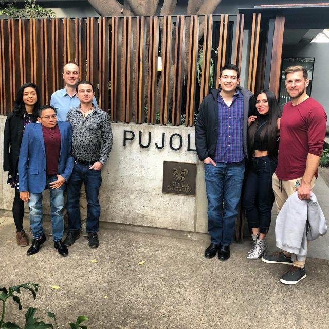 Great dinner with friends! #pujol #cdmx #mexicocity (sorry @tabrezg for cutting u off 😆)